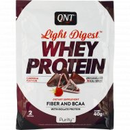 Протеин «QNT» WHEY LIGHT DIGEST, кубердон, 40 г.