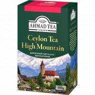 Чай листовой «Ahmad Tea» цейлонский чёрный, 100 г.