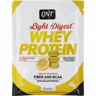 Протеин «QNT» WHEY LIGHT DIGEST, миндальное печенье/лимон, 40 г.