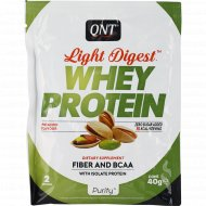 Протеин «QNT» WHEY LIGHT DIGEST, фисташка, 40 г.