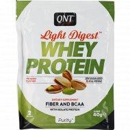 Протеин «QNT» WHEY LIGHT DIGEST, фисташка, 40 г.