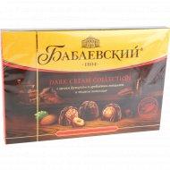 Конфеты шоколадные «Бабаевский» с целым фундуком и дробленым миндалем, 200 г.