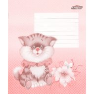 Тетрадь в клетку «Кот» 12 листов.