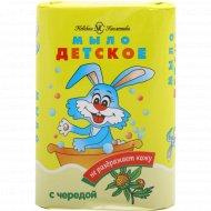 Мыло туалетное твердое «Невская Косметика» Детское с чередой, 90 г.