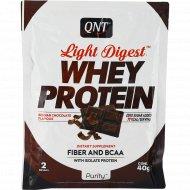Протеин «QNT» WHEY LIGHT DIGEST, шоколад, 40 г.