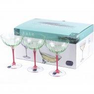 Набор бокалов для мартини «Bohemia Crystal» Kate, 210 мл
