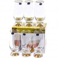 Набор бокалов для пива «Bohemia Crystal» Gina, 6 шт, 350 мл