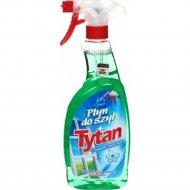 Жидкость для мытья стекол «Tytan» нанотехнология, 750 мл.
