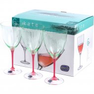 Набор бокалов для вина «Bohemia Crystal» D5094/22/400, 6 штук, 400 мл