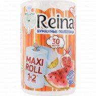 Полотенца бумажные «Reina» 1 рулон.