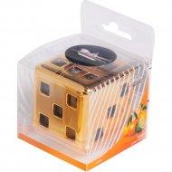 Ароматизатор на панель «Куб» цитрусовый сад, AFKU038.