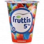 Продукт йогуртный «Fruttis» клубника 5%, 290 г.