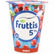 Продукт йогуртный «Fruttis» вишня 5%, 290 г.