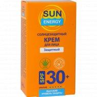 Солнцезащитный крем для лица «Sun Energy» защитный SPF 30, 30 мл.