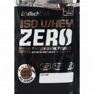 Протеин «Biotech USA» Iso Whey Zero, кофе/латте, 25 г.