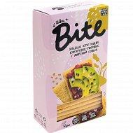 Хлебцы хрустящие «Bite» кукурузно-рисовые с морской солью, 150 г.