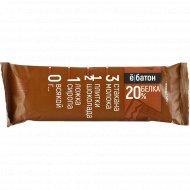 Батончик «Ёбатон» шоколад, 20% белка, 50 г.