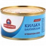 Килька балтийская «Санта бремор» в томатном соусе, 240 г.
