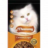 Корм для кошек «Chammy» с печенью в соусе 85 г.