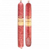 Колбаса сыровяленая «Балтийская» высший сорт, 1 кг., фасовка 0.3-0.4 кг