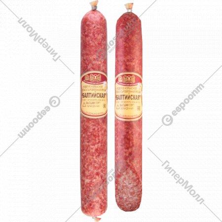 Колбаса сыровяленая «Балтийская» высший сорт, 1 кг., фасовка 0.5-0.6 кг