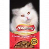 Корм влажный «Chammy» для кошек, лосось, форель в соусе, 85 г.
