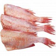 Окунь морской красный, охлажденый, 1 кг, фасовка 0.35-0.4 кг