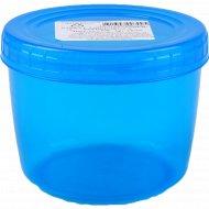 Банка с завинчивающейся крышкой «Optimplast» 0.5 л (цвет - прозрачно-голубой).
