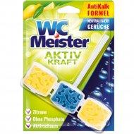 Блок для унитаза «WC Meister» лемон.