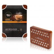 Ароматизатор под сиденье «Тундра» бодрящий кофе, AFSI144.