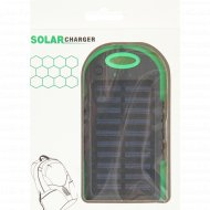 Внешний аккумулятор «Power Bank» PB01, с солнечной батареей.