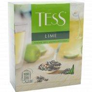 Чай зеленый «Tess» Lime, 150 г.