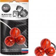 Ароматизатор подвесной «Баскетбол» черный лед, AFBB130.
