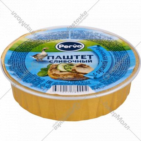 Паштет сливочный «Perva» с гусиной печенью, 70 г