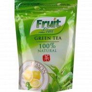 Чай зеленый «Fruit Line» с лимоном листовой 80 г.