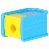 Точилка «POP» 40623-05, одинарная с контейнером.