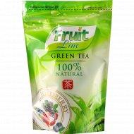 Чай зеленый «Fruit Line» лесная ягода листовой 80 г.