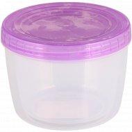 Набор банок «Optimplast», 2 шт.: 0.5 л и 0.75 л (фиолетовый).