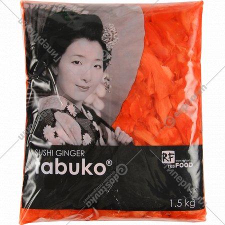 Имбирь маринованный «Tabuko» розовый, 1.5 кг.