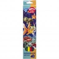 Набор карандашей цветных «Animal Club» 6 цветов.