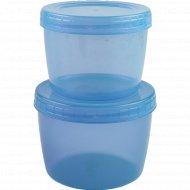 Набор цветных банок «Optimplast» 0.5 и 0.75 л.