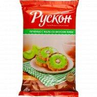 Печенье с желе «Янтарные сладости» со вкусом киви, 290 г.