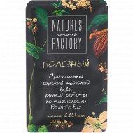 Шоколад гречишный «Nature's own factory» 61%, горький, 20 г.
