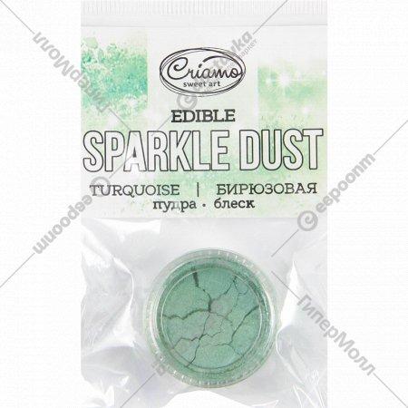 Пудра-блеск «Sparkle Dust» бирюзовая, 2 г.