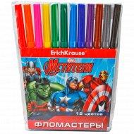 Фломастеры «Мстители-2» 12 цветов.
