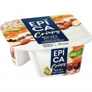 Йогурт «Epica» Crispy, 10.5%, с фисташками, 140 г