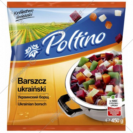 Овощи «Poltino» украинский борщ, 450 г.