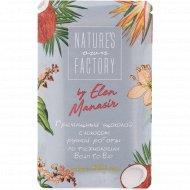 Гречишный шоколад «Nature's own factory» с кокосом, 20 г.
