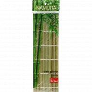 Коврик для суши «Namura» бамбуковый, 27х27 см.