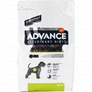 Сухой корм для собак «Advance» VetDiet, проблемы ЖКТ, 2.5 кг.
